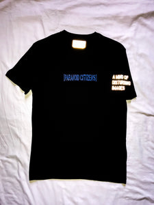 "Paranoid Citizens ""Paranoia"" Reflective T Shirt - Short Sleeves Top"