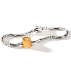 Gold Mini Rolo Charm