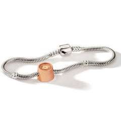 My Last Rolo Rose Gold Vermeil Mini Charm