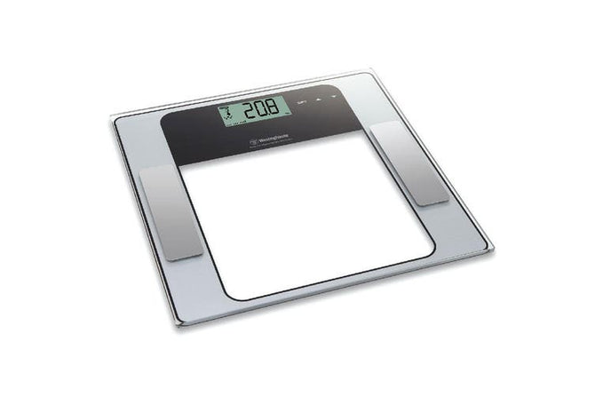 WESTINGHOUSE PERSONAL BATHROOM DIGITAL BODY FAT/HYDRATION MUSCLE MASS SCALE WHPS01SK