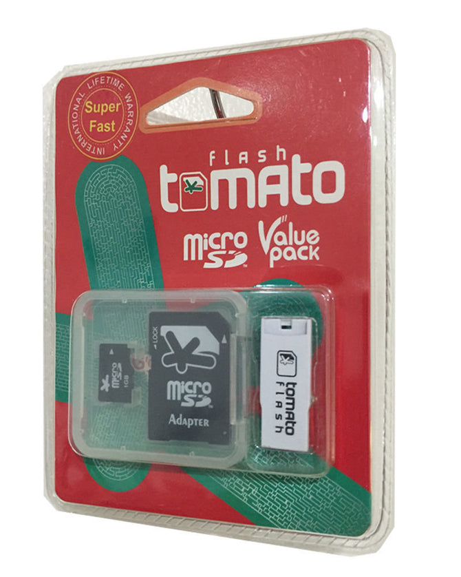 Tomato Flash 1GB MICRO SD VALUE PACK- handy & extremely light! Brand new!