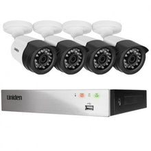 UNIDEN FULL HD SECURITY SYSTEM MODEL GDVR8T40
