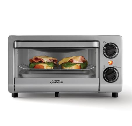 SUNBEAM MINI BAKE & GRILL COMPACT OVEN COM1000SS