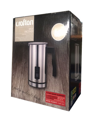 Crofton Milk Frother, Heats milk to perfect temperature, Non-stick coating