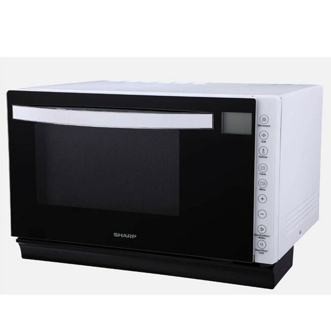 SHARP 850W MICROWAVE OVEN WITH GRILL R67B1W