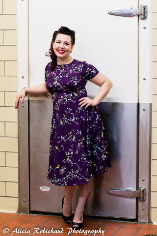 Speaking of 50 years ago, doesn't Laura look fantastic in this 1940's inspired dress? (yes I realize that's more than 50 years ago, just go with it!)