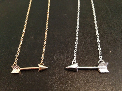 Small Arrow Necklace