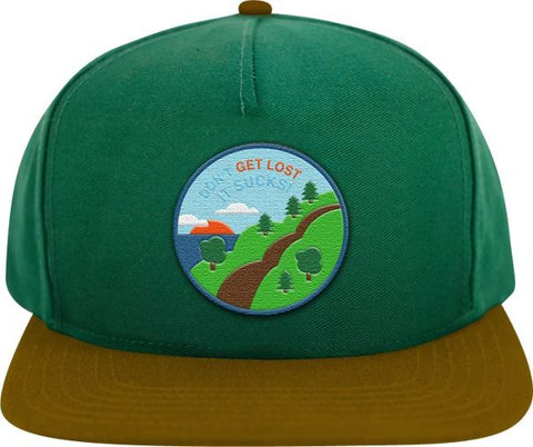 Don't Get Lost Snap Back Hat