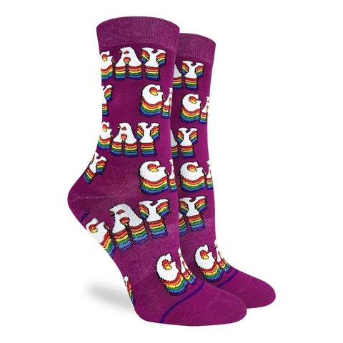 Gay Active Fit Socks - Women's Sizing