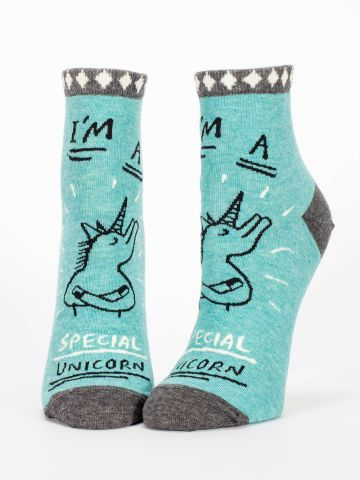 I'm a Special Unicorn Ankle Socks