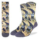 Coffee Raven Active Fit Socks - Men's Sizes