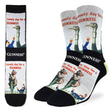 Lovely Day for  Guinness Bear Active Fit Socks - Men's Sizing