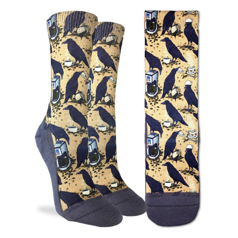 Coffee Raven Active Fit Socks - Women's Sizing