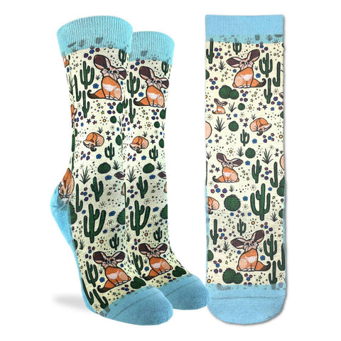 Fennec Fox Active Fit Socks - Women's Sizing