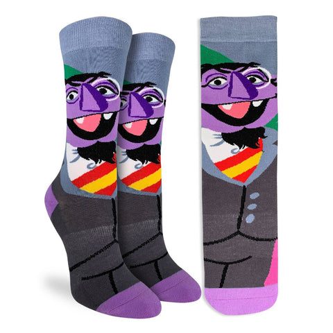 Count Von Count Active Fit Socks - Men's Sizing