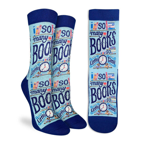 So Many Books Active Fit Socks - Women's Sizing