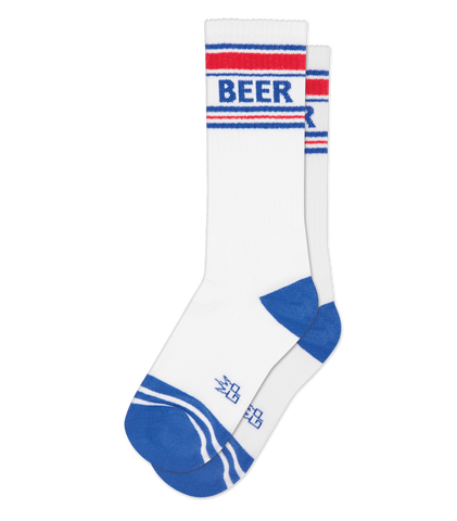 Beer Retro Gym Socks