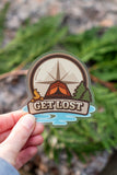 Get Lost Vinyl Sticker