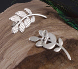 Leaf Ear Climber Stud