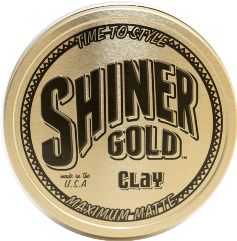 Shiners Gold Clay Pomade