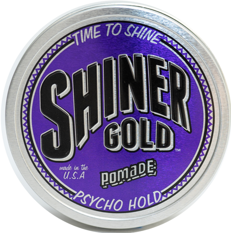 Shiners Gold Psycho Hold Pomade
