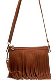Small Fringed Cross Body