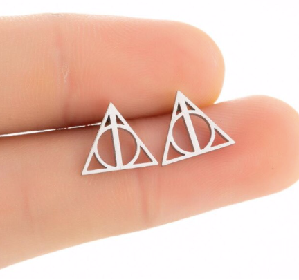 Deathly Hollows Studs