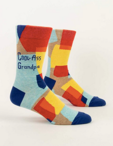 Cool-Ass Grandpa Men's Crew Socks