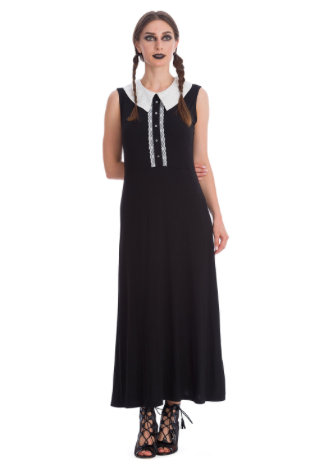Haunted Doll Maxi Dress