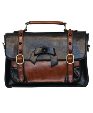 Buckle & Bow Bag - Small - Assorted Colours