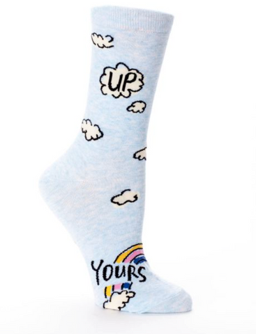 Up Yours Women's Crew Length Socks