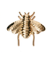 Small Gold Finish Bee Pin