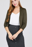 The Perfect Cropped Cardi - Assorted Colours
