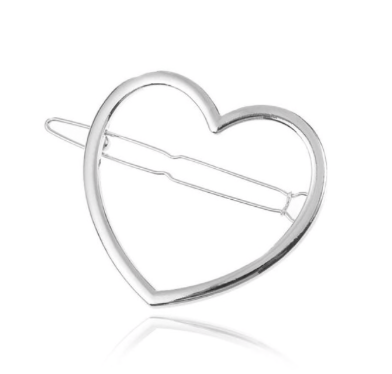 Hollow Heart-Shaped Hair Clip