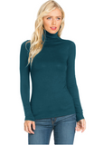 Soft Jersey Turtleneck - Assorted Colours