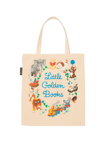 Little Golden Book Canvas Tote