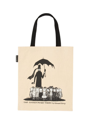 The Gashlycrumb Tinies Canvas Tote