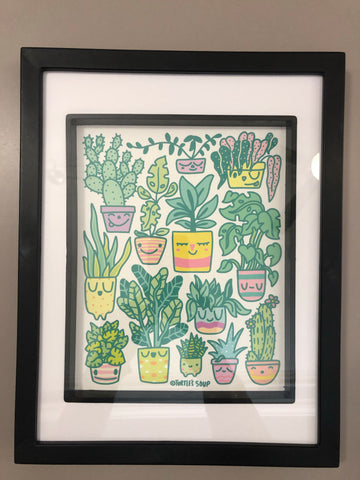 Happy Plants Print