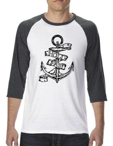 Hold Fast Anchor 3/4 Raglan