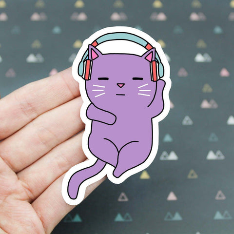 Music Cat Sticker