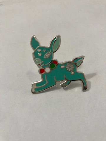 Minty Fresh Deer Enamel Pin