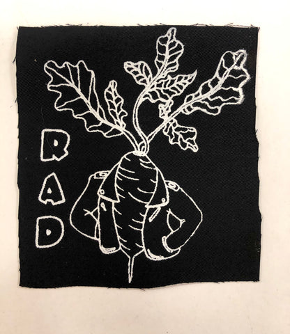 Rad Silk Screened Patch
