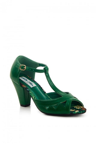 Veronica High Heel - Emerald Green