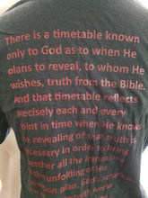 Load image into Gallery viewer, Men's Bible lesson on a T-shirt