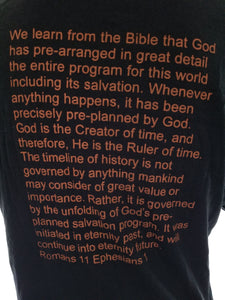Bible lessons on a t-shirt top quality