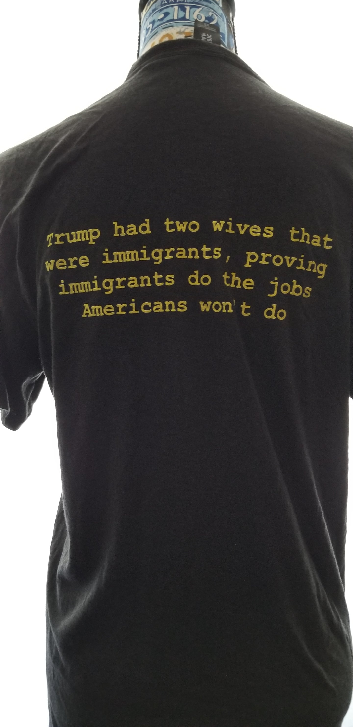 Trump had two wives that were immigrants