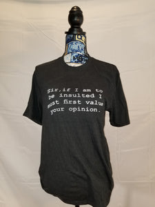 Men's sarcastic t-shirt