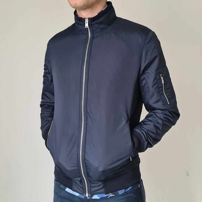 Selected Homme Navy Son Jacket