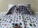 Herbie Frogg Multi Beetle Tapered fit shirt