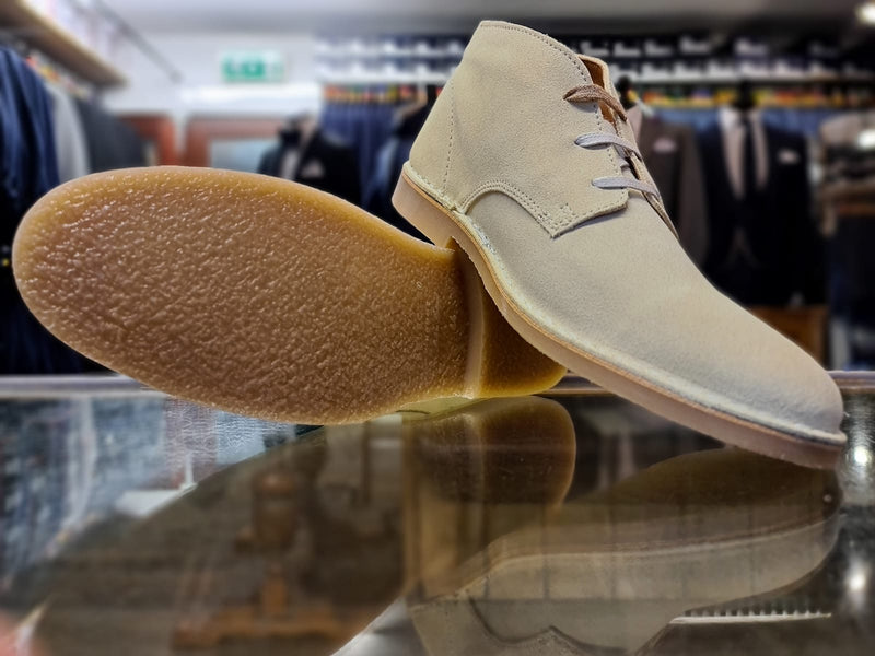 Selected Homme Suede Boot Oyster Gray